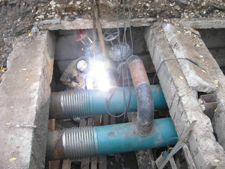 установка сильфонного компенсатора отопление