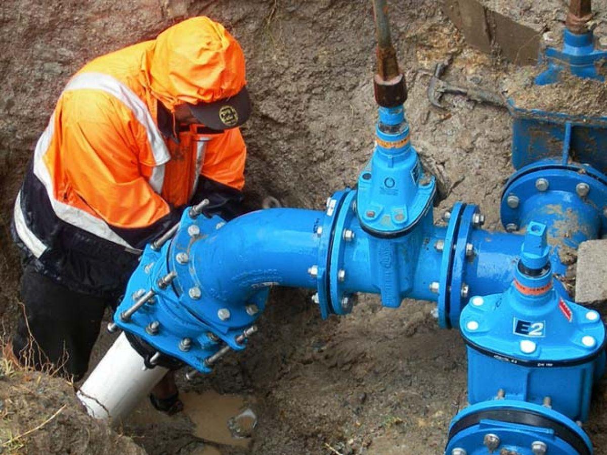 Правила монтажа запорной арматуры на водопроводе